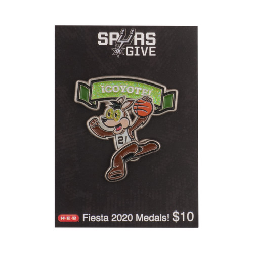 Spurs Give 2019-20 Coyote Fiesta Medal