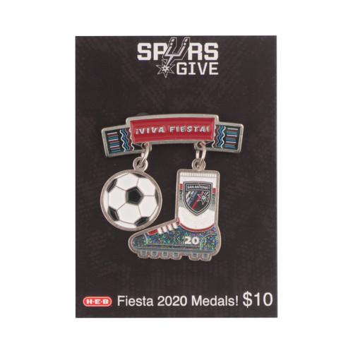 Spurs Give 2019-20 SAFC Fiesta Medal