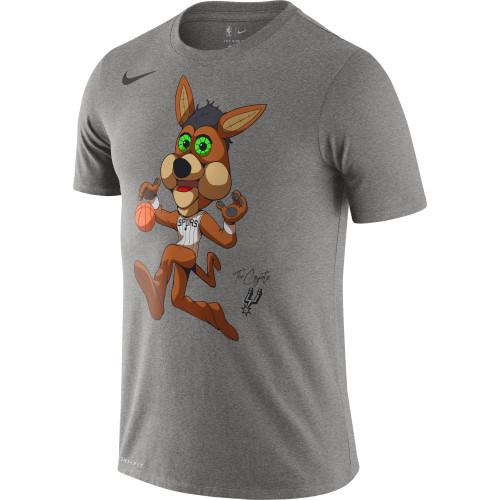 San Antonio Spurs Men's Nike Coyote Dri-Fit T-shirt