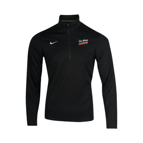 San Antonio Spurs Men's Nike 2020 City Edition 1/4 Zip Pacer