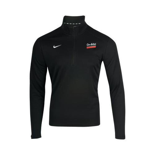 San Antonio Spurs Men's Nike 2020 City Edition 1/4 Zip Trainer