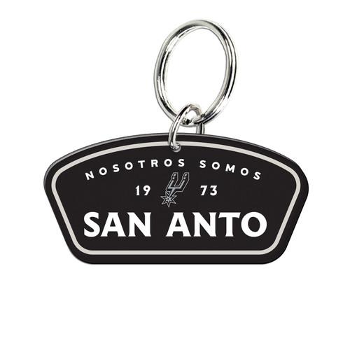 San Antonio Spurs Wincraft La Cultura High Def Key Ring