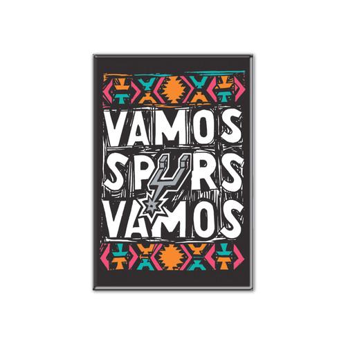 San Antonio Spurs Wincraft La Cultura Vamos Spurs Vamos Magnet