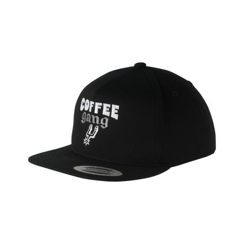 San Antonio Spurs Men's Coffee Gang Badge Snapback Hat