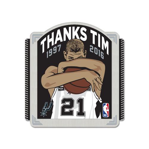 San Antonio Spurs Wincraft Thanks Tim Pin