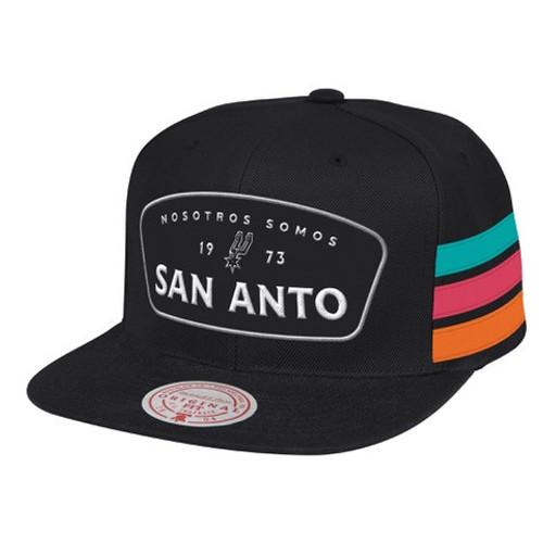San Antonio Spurs Men's Mitchell and Ness La Cultura 2 Snap Back Hat