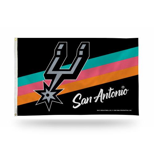 San Antonio Spurs Rico City Edition Flag - 3x5