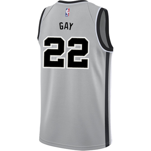 San Antonio Spurs Youth Nike Statement Edition Rudy Gay Jersey