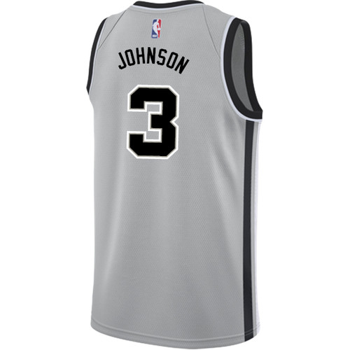 San Antonio Spurs Youth Nike Statement Edition Keldon Johnson Jersey