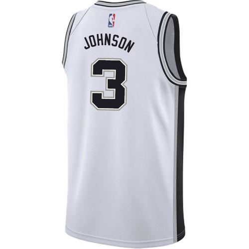 San Antonio Spurs Youth Nike Association Keldon Johnson Jersey