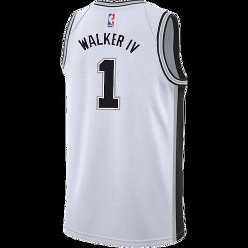 San Antonio Spurs Youth Nike Association Lonnie Walker IV Jersey