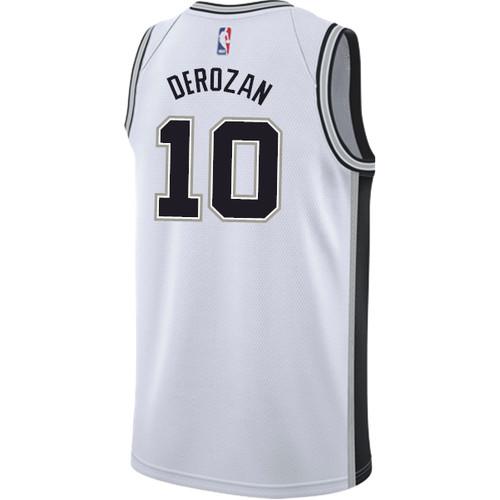 San Antonio Spurs Youth Nike Association DeMar DeRozan Jersey