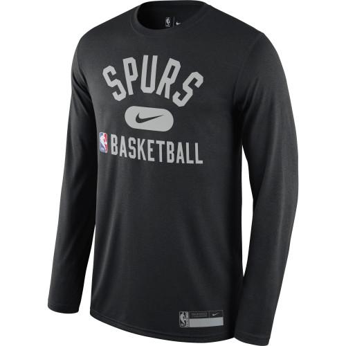 San Antonio Spurs Men's Nike Practice Graphic Long-Sleeve T-Shirt