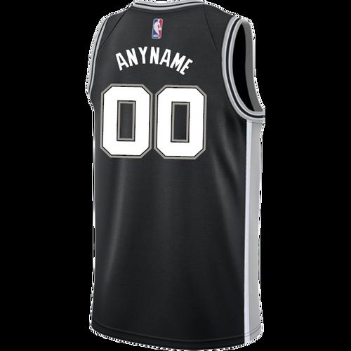 San Antonio Spurs Men's Nike Custom Personalized Icon Authentic Jersey