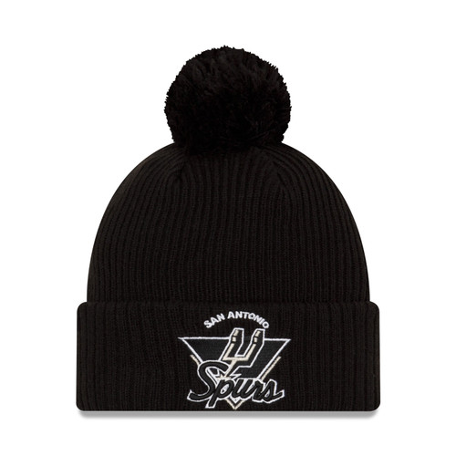 San Antonio Spurs Men's New Era 2021 Tip Off Knit Hat