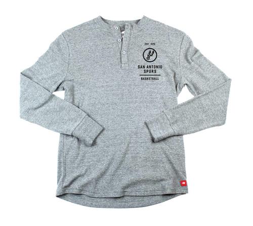 San Antonio Spurs Men's Sportiqe Campbell Long Sleeve T-Shirt