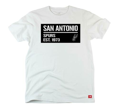 San Antonio Spurs Men's Sportiqe Fowler Short Sleeve T-Shirt