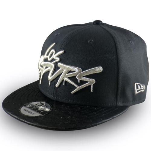 San Antonio Spurs Men's New Era Los Otros Eyes 9Fifty Snapback Hat