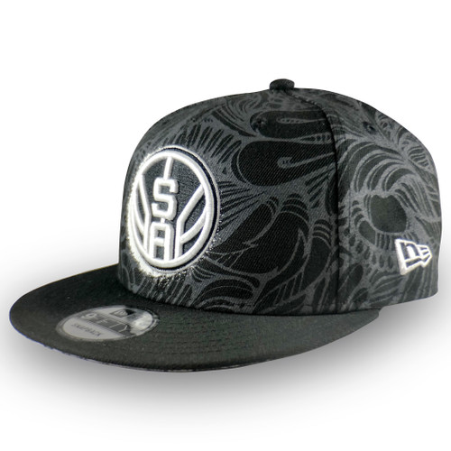 San Antonio Spurs Men's New Era Los Otros Filigree 9Fifty Snapback Hat