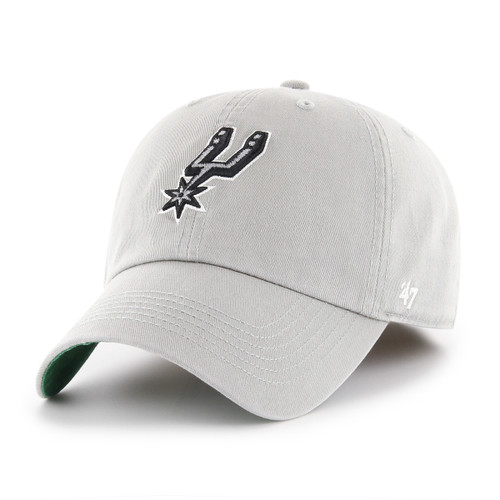 San Antonio Spurs Men's '47 Brand Fitted Franchise Hat - Gray With Spur Logo