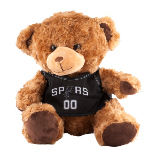 San Antonio Spurs Plush 10 Inch Teddy Bear With Jersey