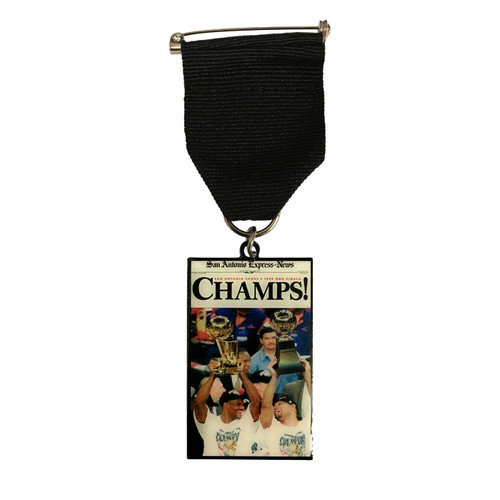 "San Antonio Spurs 1999 ""Champs!"" Fiesta Medal by San Antonio Express News"