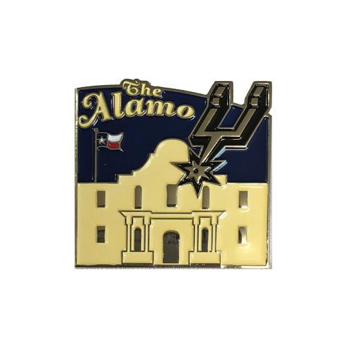 San Antonio Spurs Collectible Alamo Lapel Pin