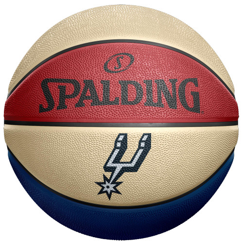 San Antonio Spurs Spalding B7 Full Size Hoops For Troops Basketball