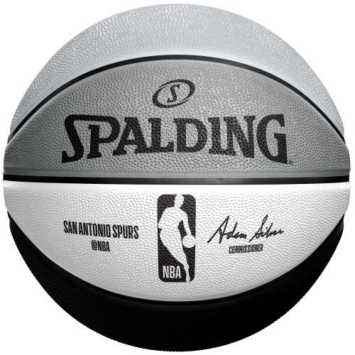San Antonio Spurs Spalding Alternate Panel B3 Mini Basketball