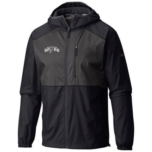 San Antonio Spurs Men's Columbia Flash Forward Windbreaker Jacket