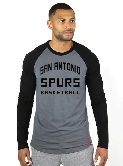 San Antonio Spurs Men's Sportiqe Frye Long Sleeve T-Shirt