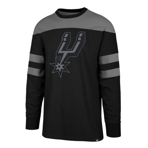 San Antonio Spurs Men's '47 Brand Gunner Crew Neck Sweatshirt