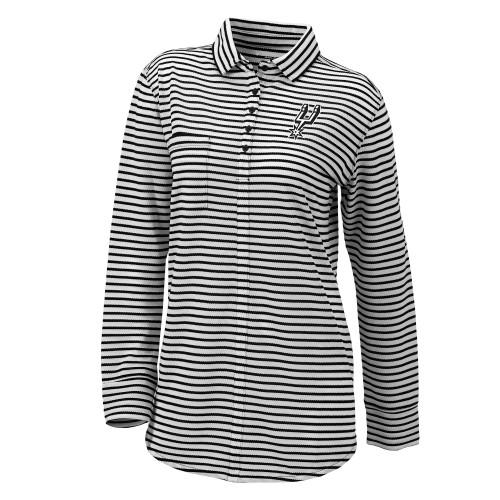 San Antonio Spurs Women's Columbia Omni-Wick Jewel Long Sleeve Top