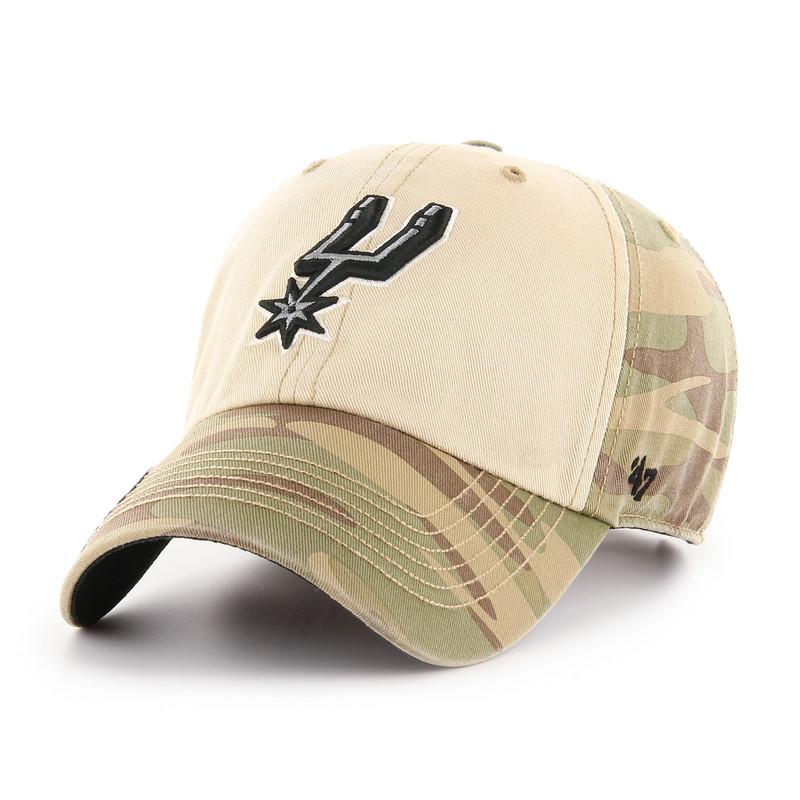 wide range great deals 2017 great deals San Antonio Spurs Men's '47 Brand OHT Clean Up Hat - Primary Logo ...