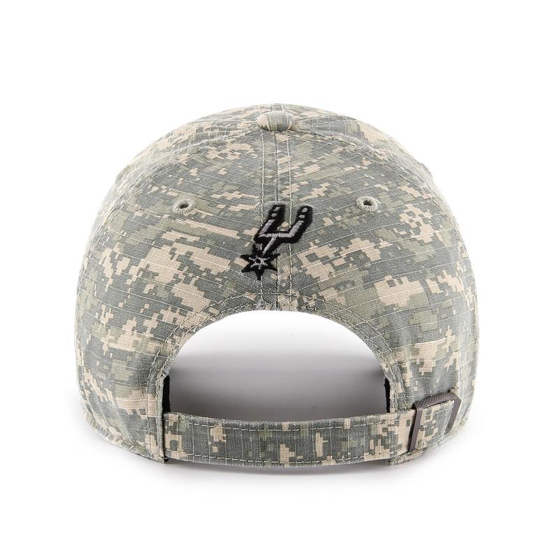 get online sold worldwide new arrive San Antonio Spurs Men's '47 Brand OHT Clean Up Hat - Texas Digi ...