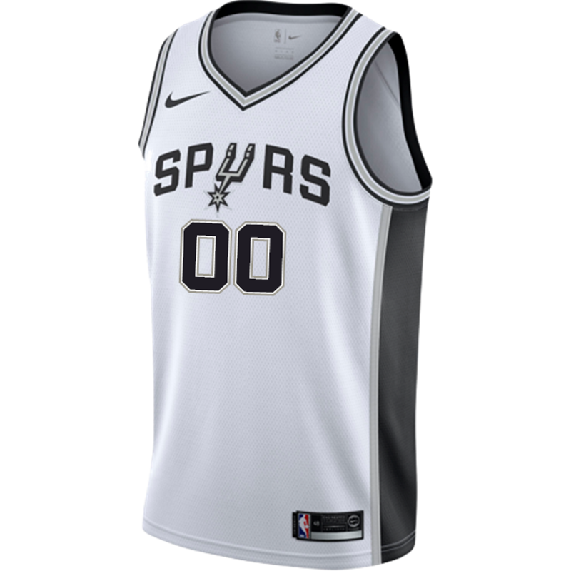 diario Inconcebible juego  San Antonio Spurs Men's Nike Custom Personalized Association Swingman Jersey  - The Official Spurs Fan Shop