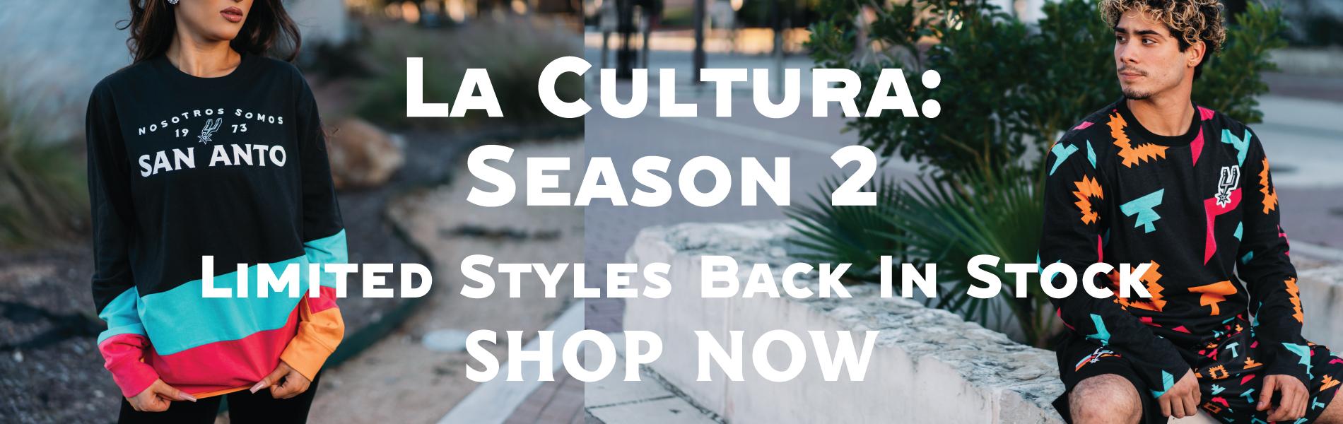 San Antonio Spurs La Cultura 2 Collection