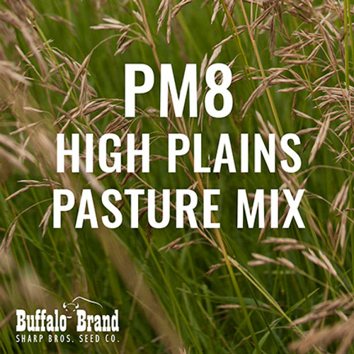 PM8 - High Plains Pasture Mix