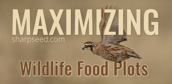 Maximizing Wildlife Food Plots