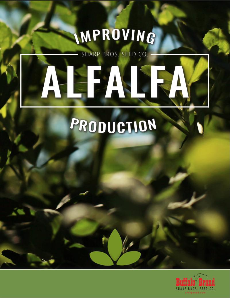 Sharp Bros. Seed Co. 2018 Alfalfa Brochure - sharpseed.com