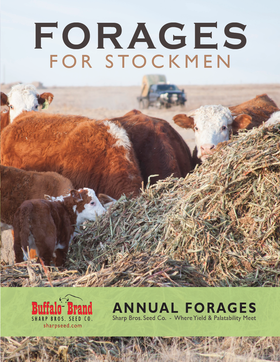 Sharp Bros. Seed Co. 2018 Forages Brochure - sharpseed.com