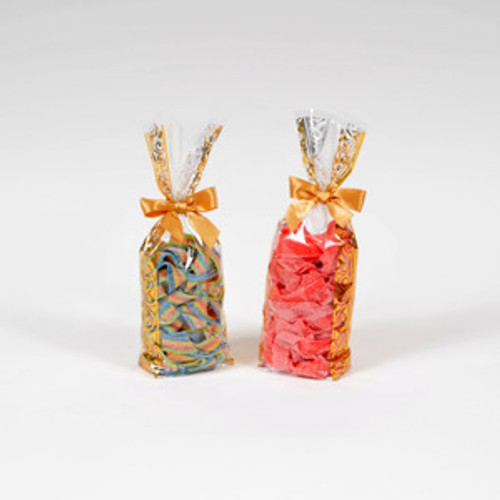Sour Belts 1 lb Bag - Tutti Frutti and Strawberry Flavors