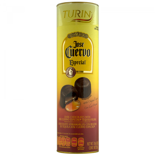 Liquor chocolate truffles made with Dark chocolates and Jose Cuervo Especial Tequila filling