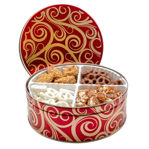 Custom Chocolate Tin - Pick your favorite Chocolates and Candies for a Custom Chocolate Gift