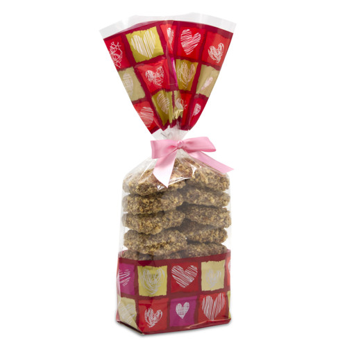 Valentine's Day Chocolate Toffee Gift Bag