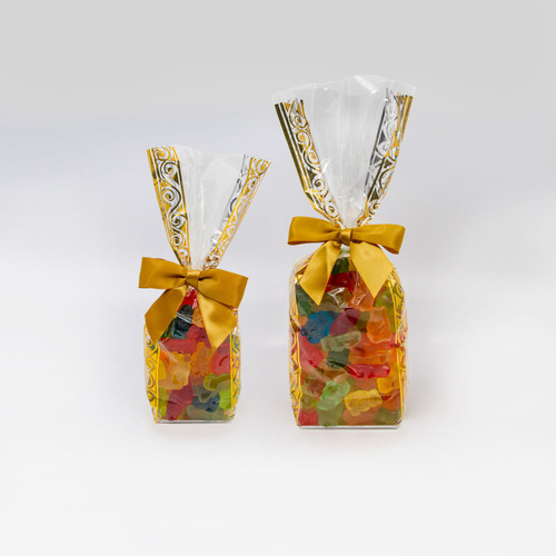 Gummi Bears in a half pound or full pound gift bag