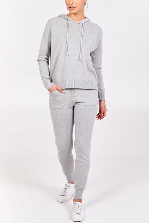 Grey Hoodie Loungewear Set