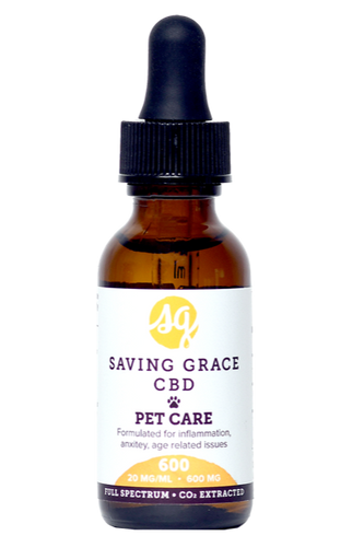 Saving Grace CBD Pet Care 600mg