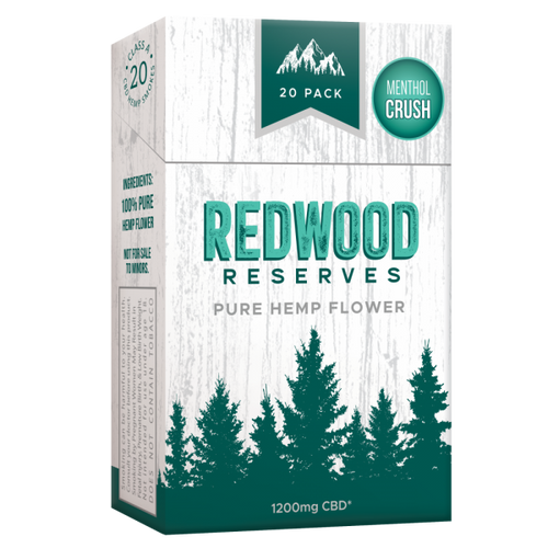 Redwood Reserves Menthol Hemp Cigarettes