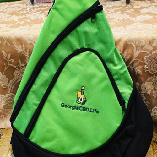 Georgia CBD Canvas Sling Backpack